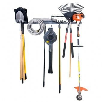 Find This Pin And More On Garage Organization Ideas. Gray Large Yard Tool  ...