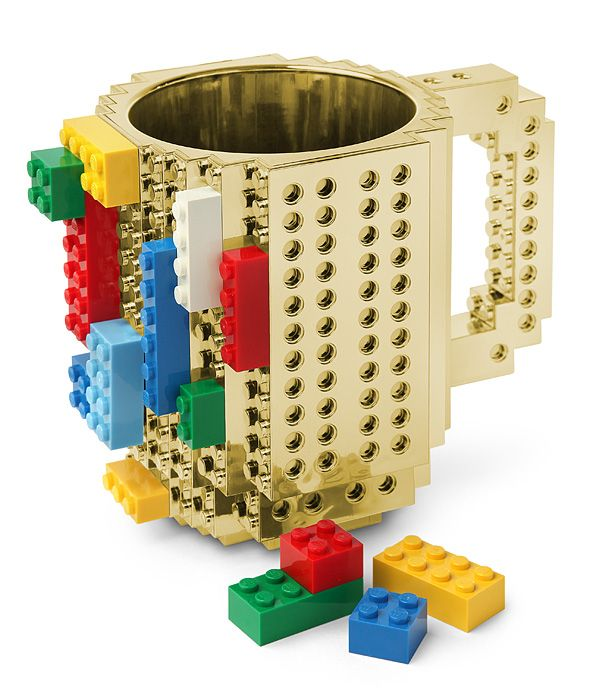Build On Brick Mug - Metallic | Things i would love to have ...