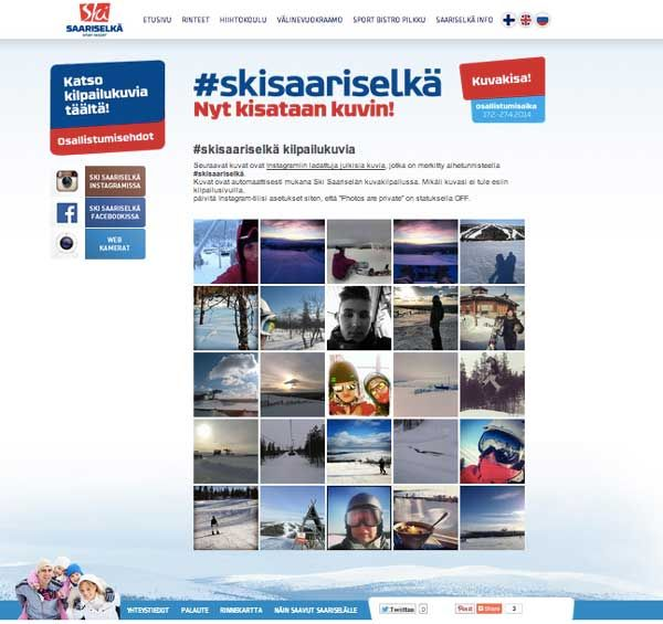 #skisaariselka, #kuvakisa, #proinnodesign www.skisaariselka.fi  www.proinnodesign.fi