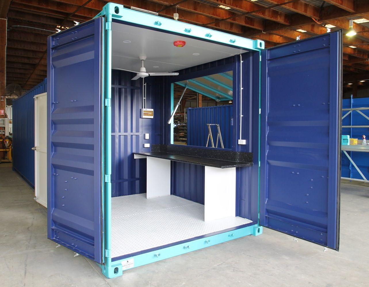 Royal Wolf S 10ft Mini Pop Up Container Shops Offer The Perfect Combination Of Portability And Security For Container Shop Container Coffee Shop Container Cafe