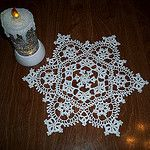 Snowdancer Doily by LaceCrochet