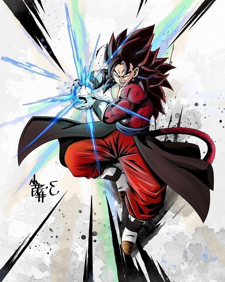 Xeno Vegito Ssj4 Anime Dragon Ball Super Dragon Ball Image Dragon Ball Super Goku