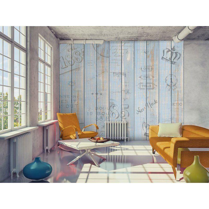 Papel pintado madera wsr455 papel pintado paredes - Papel pintado letras ...