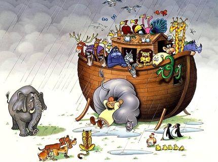 El Diluvio Universal Cuentos Clasicos El Arca De Noe Animales Imagenes De Animales
