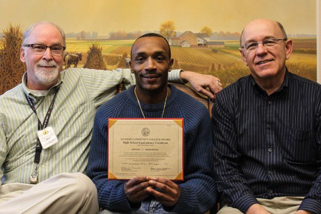 Mission residents recently earned their GEDs.