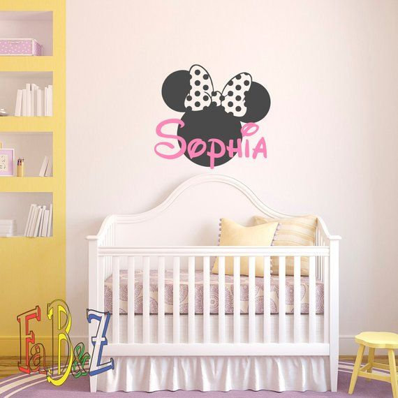 Vinyl Wall Stickers For Kids Personalized Custom Name Wall Art Decals For Nurser