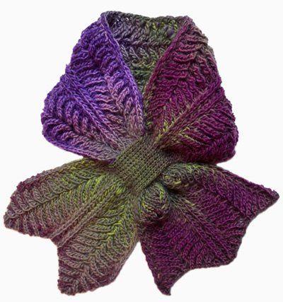 10+ Keyhole Scarves and Shawl Knitting Patterns   Stricken häkeln ...