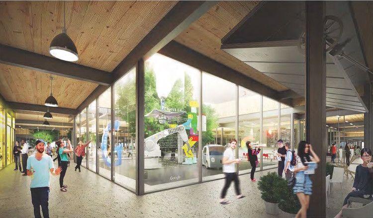 BIG y Heatherwick actualizan diseño del nuevo campus de Google en Mountain View | Plataforma Arquitectura
