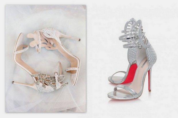 Designer Wedding Shoes Looks For Less Sergio Rossi Vs Carvela