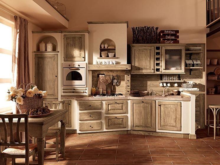 Cucina in muratura provenzale | cucine in muratura e cucine ...