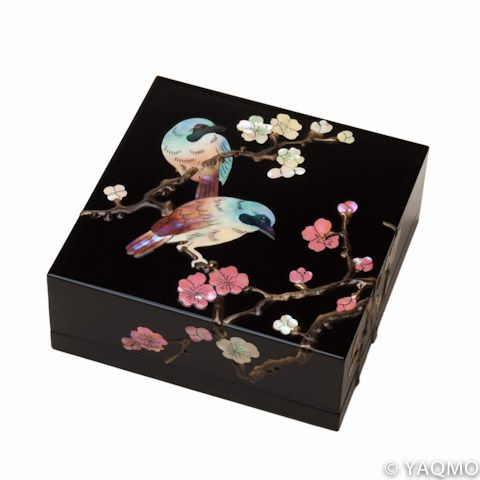 Japanese Raden Lacquerware