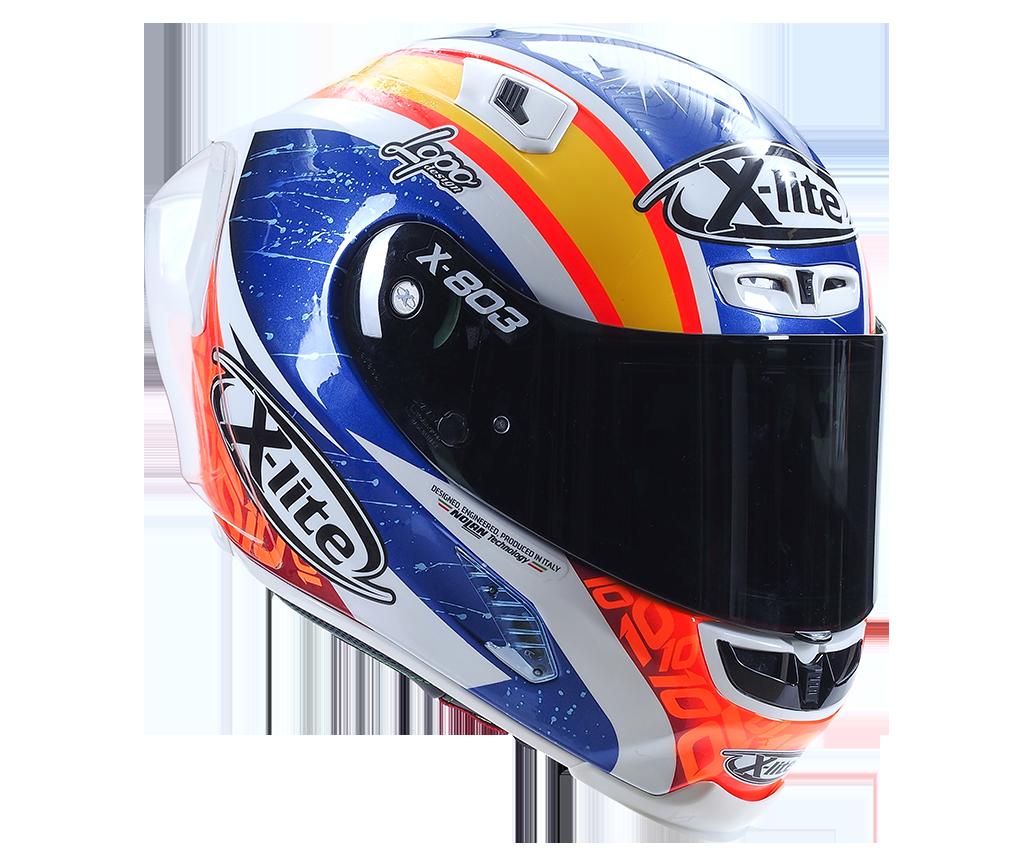 Nacho Calero's XLite Helmet
