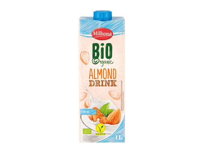 Bio Napitek Lidl Slovenija Www Lidl Si In 2020 Almond Drinks Lidl Bio