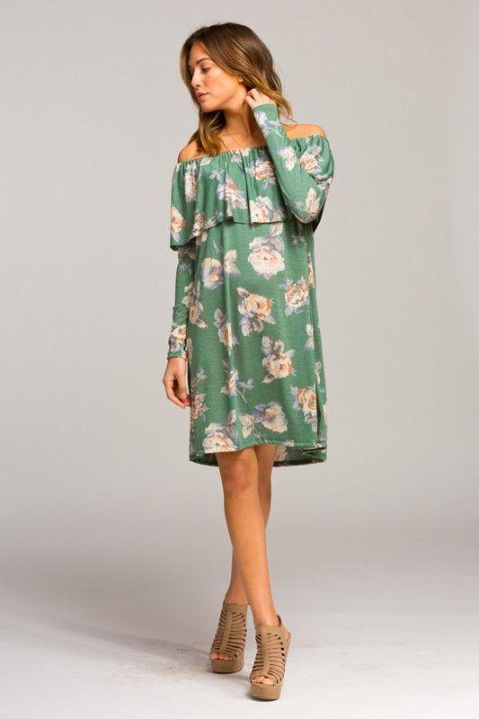 Paradise Flounce Dress