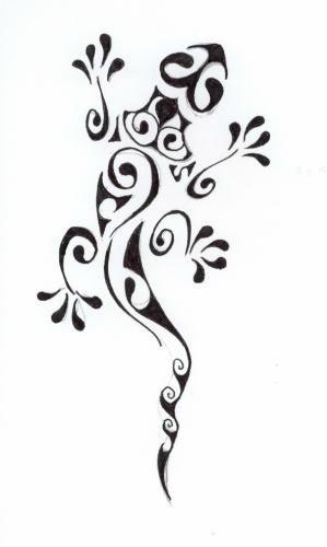 Motif Silhouette Gratuit Septembre 2014 Salamandre Poussiere D Aiguilles Tatouage Lezard Modeles Tatouages Au Henne Designs De Tatouage Au Henne