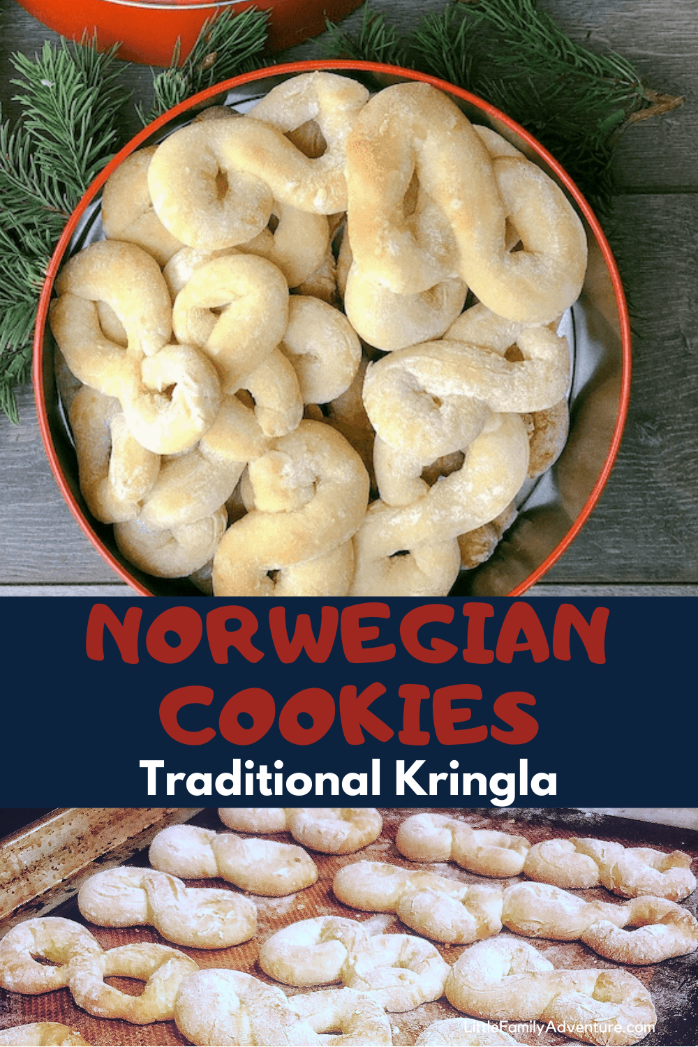Kringla Recipe For Traditional Norwegian Sugar Cookies In 2020 Norwegian Cookies Recipes Kringla Recipe