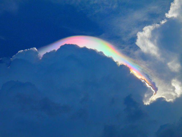 ずっと見てたい「横に伸びる虹」環水平アークの美しい画像 11選 | 風景 ...