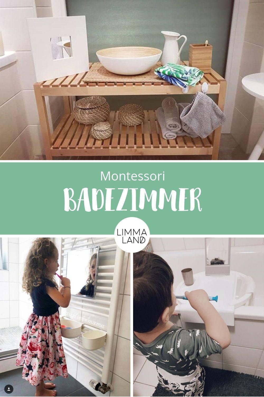Montessori Badezimmer für Kinder - IKEA Hacks | Ikea ...