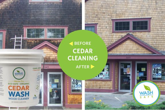Best Our Eco Safe And Easy To Use Cedar Cleaners And Sealers Will Restore And Clean Your Cedar Siding 400 x 300