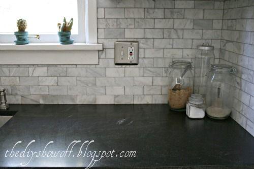 Before And After Farmhouse Kitchen Makeover Granite Countertops Kitchen Black Granite Countertops Trendy Kitchen Backsplash