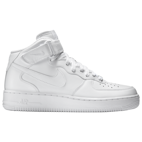 Nike Air Force 1 Mid Casual Basketball Shoes White in 2019