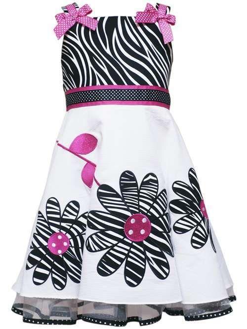 Hot Pink Zebra Dress