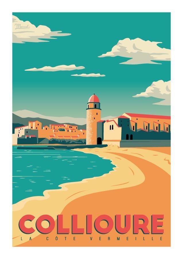 Marcel Collioure COTE VERMEILLE wwwmarcelbiarritzcom Clique