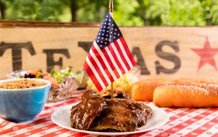 Pork Ribs Texas Style