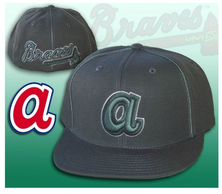 4814a4e7c20 Atlanta Braves Fitted 7 3 4 Hat