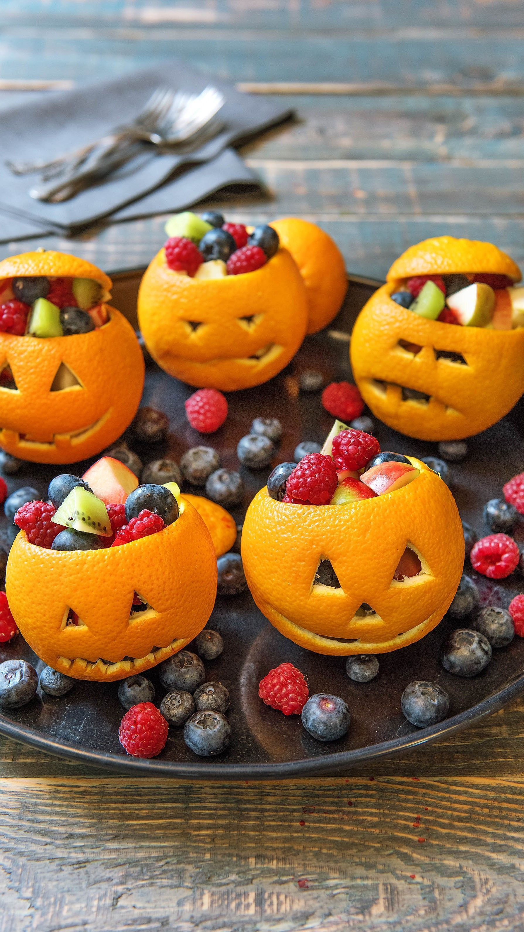 Halloween Snacks zum Fürchten helloweenessenkinder Rezept
