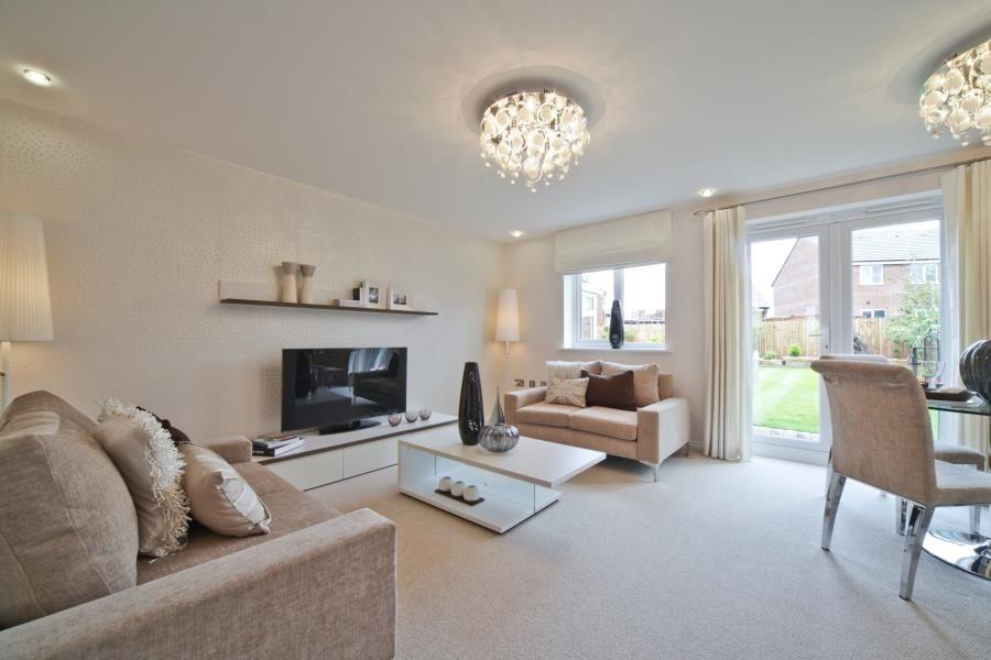 Knutsford Showhome Living Room