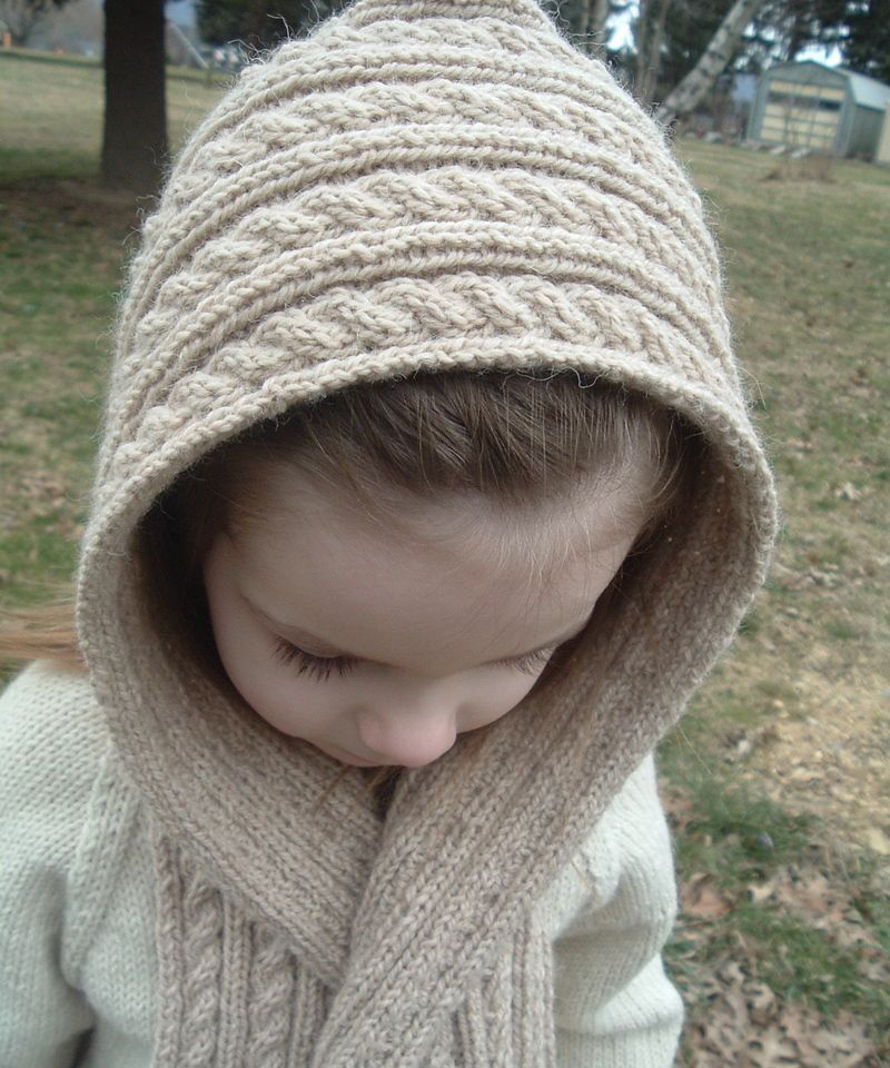 Cute Hooded Scarf Knitting Pinterest Hooded Scarf Knit