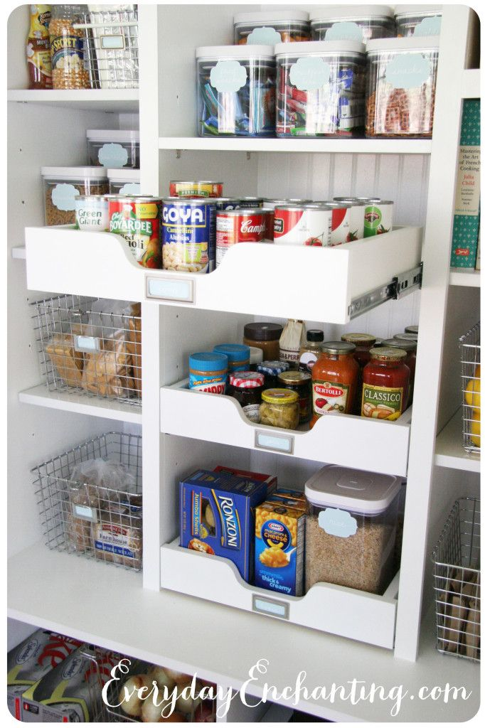 10 Tips for an Organized Pantry | Speisekammer und Küche