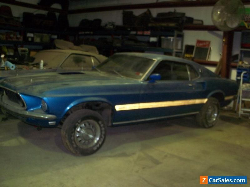 1969 Ford Mustang Mach 1 Ford Mustang Forsale Unitedstates