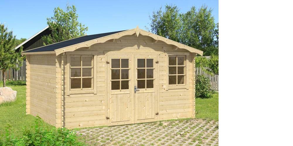 Abri de jardin AMBALAVAO 13 m² | kamelya, veranda, çardak ...