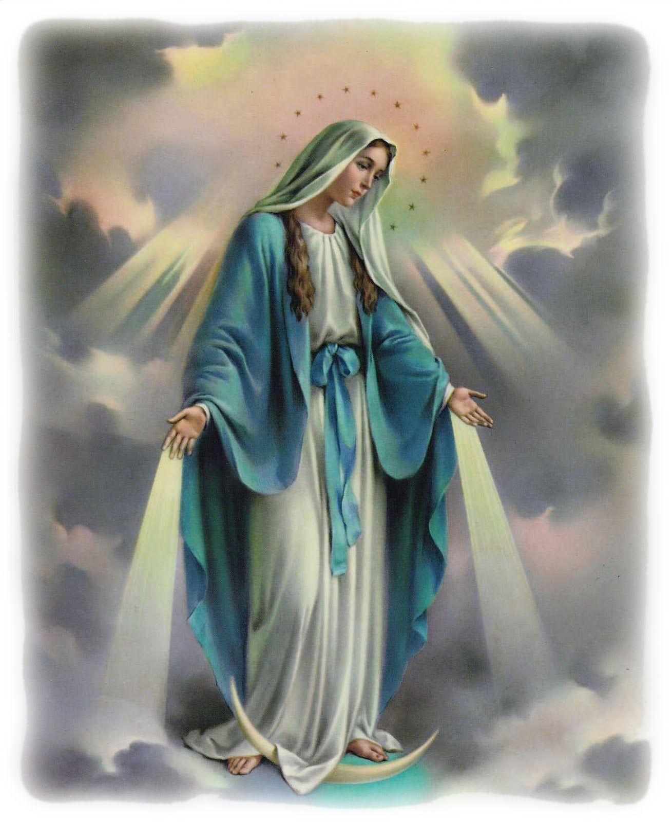 Conhecido Nossa Senhora das Graças. | Nossa Senhora das Graças | Pinterest  CB45