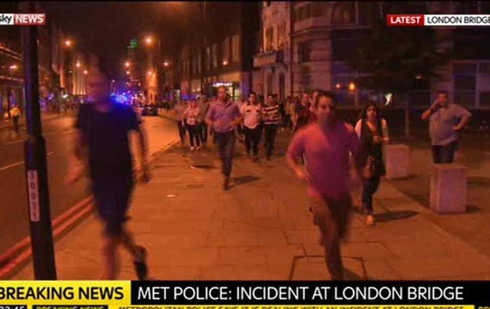 PHOTOS: Terror Attack Hits London Again