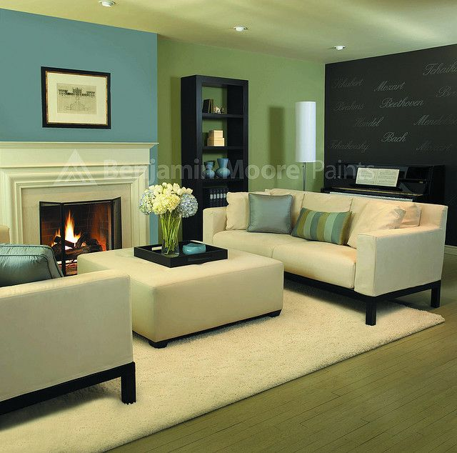 Contemporary Living Room | Living rooms, Love the and Color combos