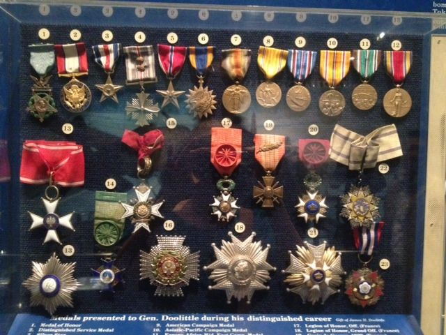 "jimmy doolittle medals | General ""Jimmy"" Doolittle's medals"