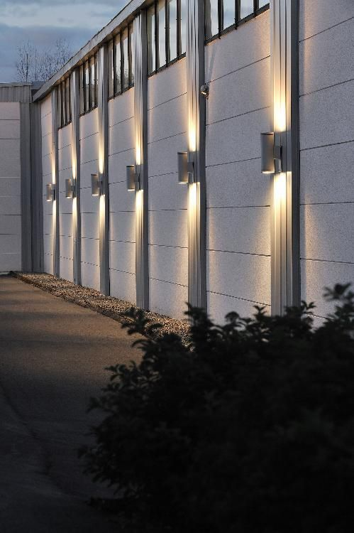 Cylinder G12 Hit Commercial Up Down Wall Light Outdoor Lighting