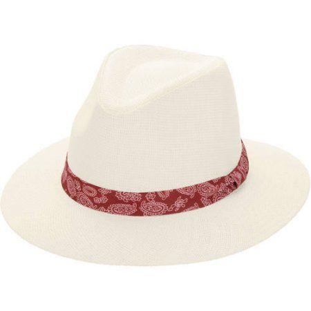 751db7390f6 Women s Straw Fedora Hat