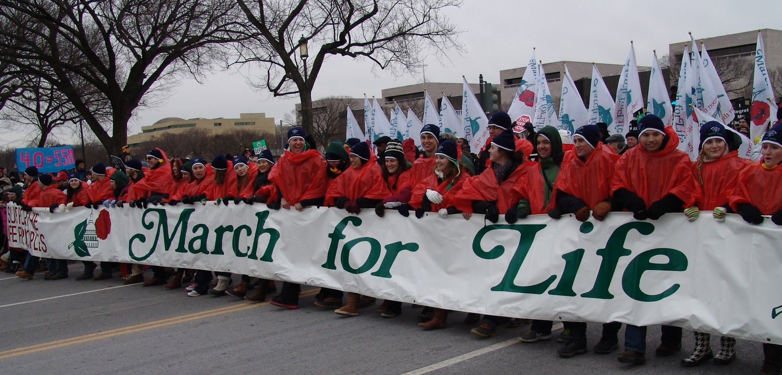 March For Life Banner Pro Life Generation Life Pro Life