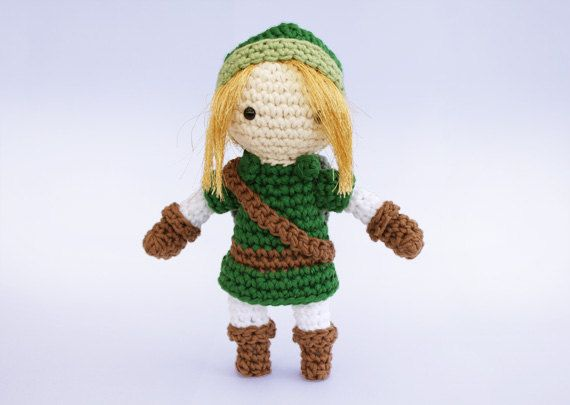 Link Crochet Pattern From The Legend Of Zelda By Liebe9 On Etsy