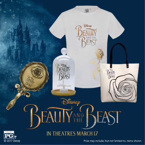 Win A Beauty And The Beast Prize Pack Arv 100 Us 3 19 17 Via Ifttt Reddit Gi Beauty And The Beast Beauty And The Beast Movie Disney Beauty And The Beast