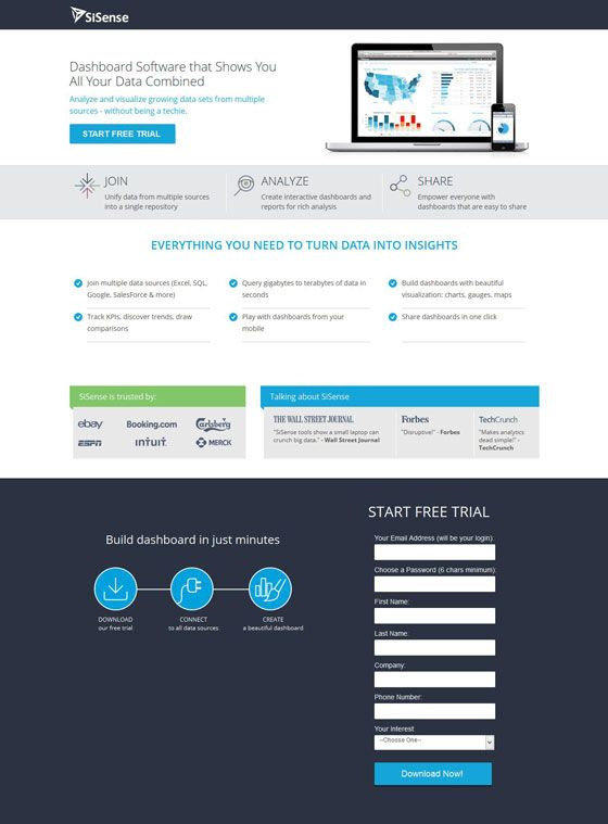 8 Free Trial Landing Page Examples With Testing Ideas Landing Page Examples Landing Page Free Trial
