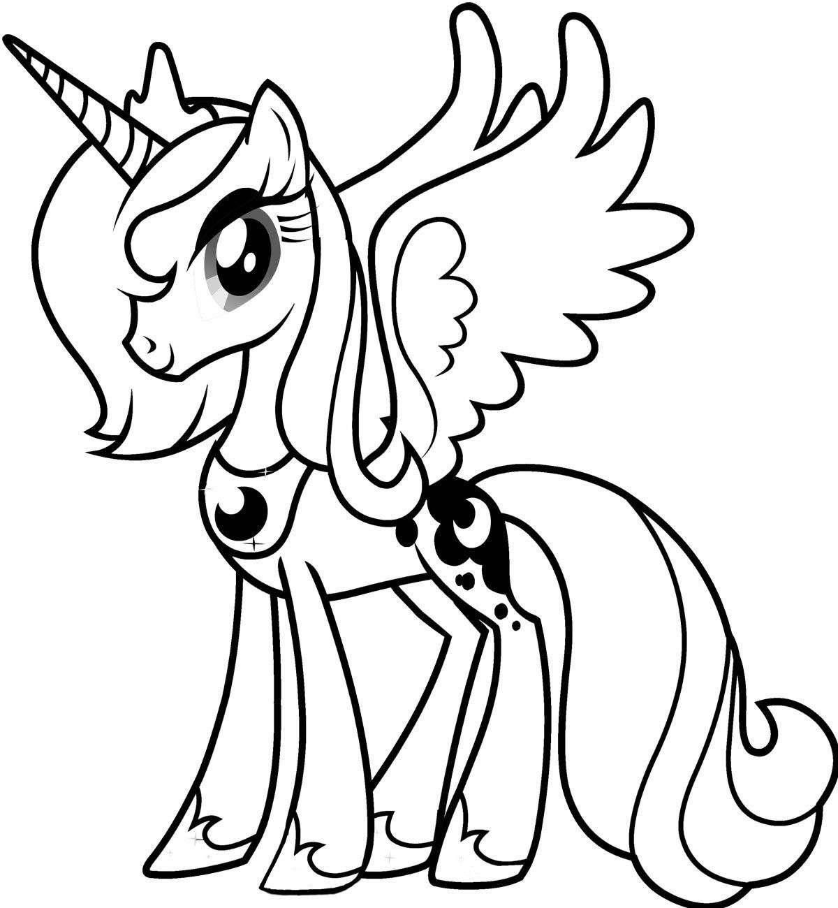 My Little Pony Coloring Pages | Party, Party! | Pinterest | Pony and ...