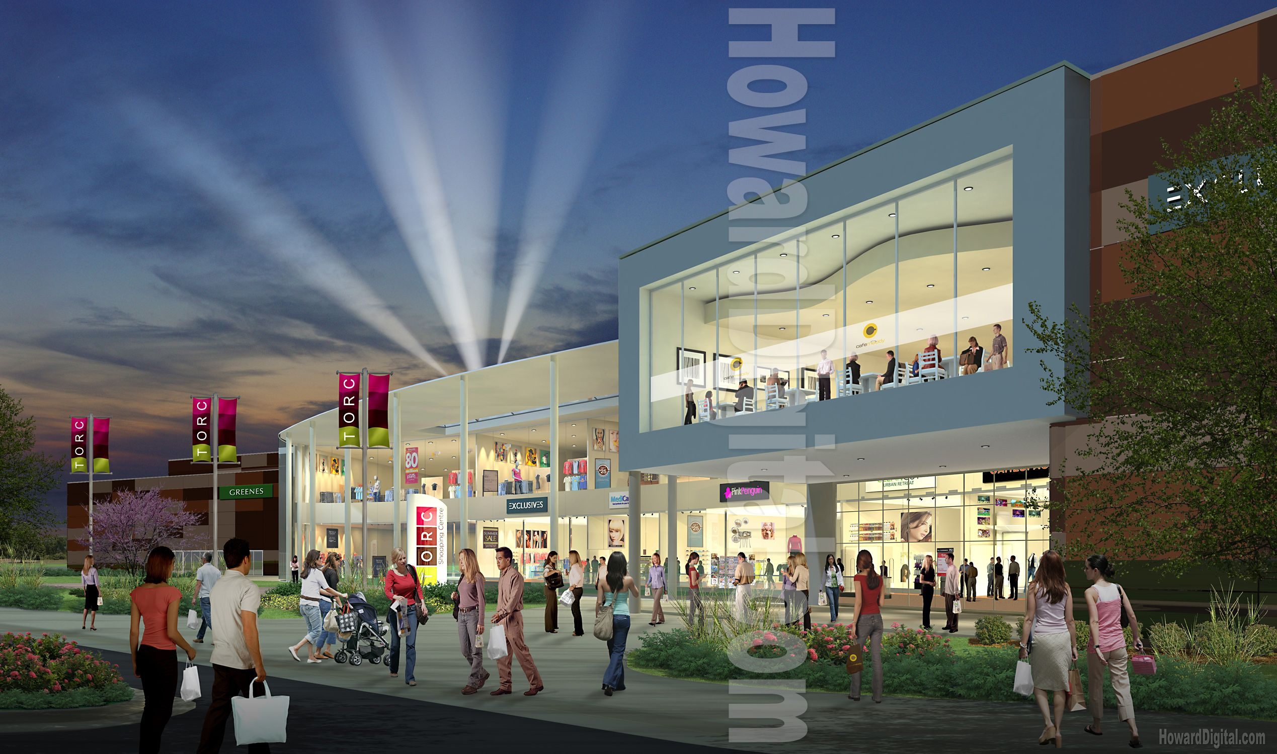 Pin by tal eylon farjon on mall pinterest shopping for Shopping mall exterior design