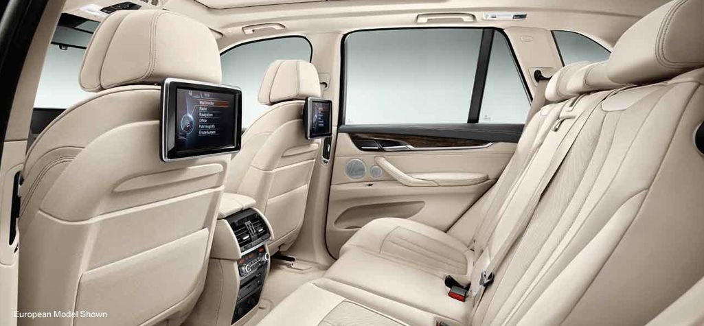 bmw x5 xdrive50i with exclusive napa leather in ivory white and