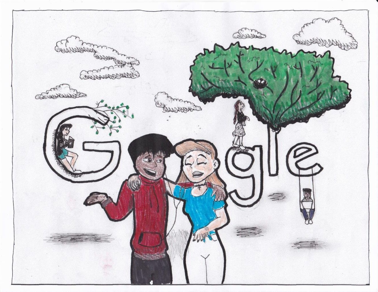 Brooke Google Doodle Submission 2018 March She Did This In A