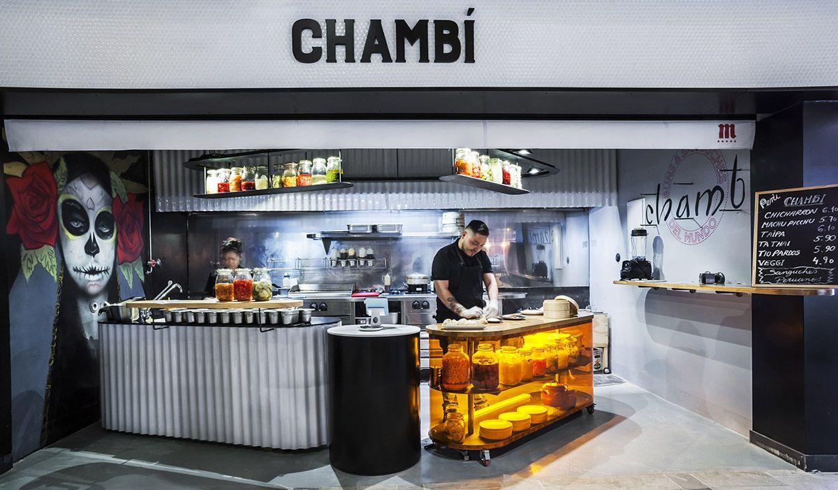 Chambí - La Chispería de Chamberí - Mercado de Chamberí - Madrid